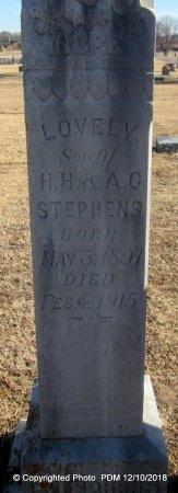 STEPHENS, LOVELY - Sequoyah County, Oklahoma | LOVELY STEPHENS - Oklahoma Gravestone Photos
