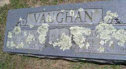 VAUGHAN, MARTHA LUIZIA - Sequoyah County, Oklahoma | MARTHA LUIZIA VAUGHAN - Oklahoma Gravestone Photos