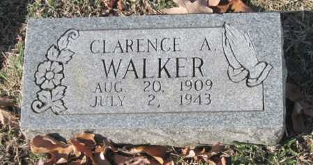 WALKER, CLARENCE A - Sequoyah County, Oklahoma | CLARENCE A WALKER - Oklahoma Gravestone Photos