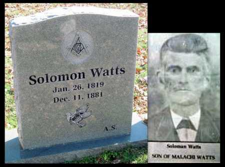 WATTS, SOLOMON - Sequoyah County, Oklahoma | SOLOMON WATTS - Oklahoma Gravestone Photos