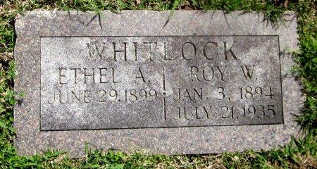 WHITLOCK, ETHEL A - Sequoyah County, Oklahoma | ETHEL A WHITLOCK - Oklahoma Gravestone Photos