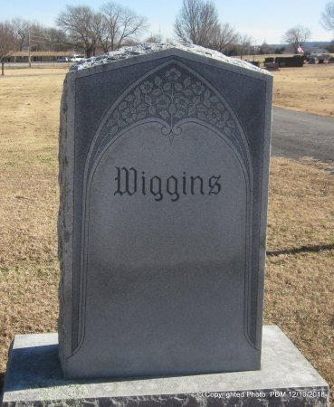 WIGGINS FAMILY STONE, . - Sequoyah County, Oklahoma | . WIGGINS FAMILY STONE - Oklahoma Gravestone Photos