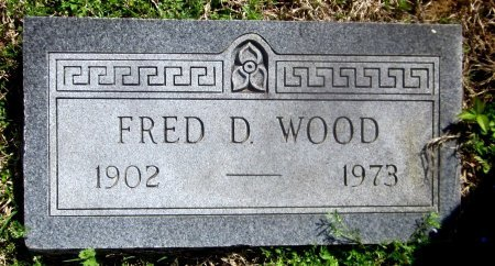 WOOD, FRED D - Sequoyah County, Oklahoma   FRED D WOOD - Oklahoma Gravestone Photos