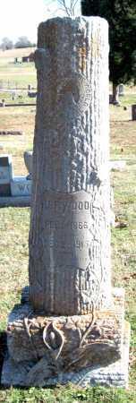 WOOD, JOHN F - Sequoyah County, Oklahoma | JOHN F WOOD - Oklahoma Gravestone Photos