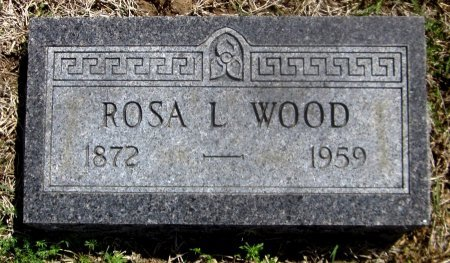 WOOD, ROSA LEE - Sequoyah County, Oklahoma | ROSA LEE WOOD - Oklahoma Gravestone Photos