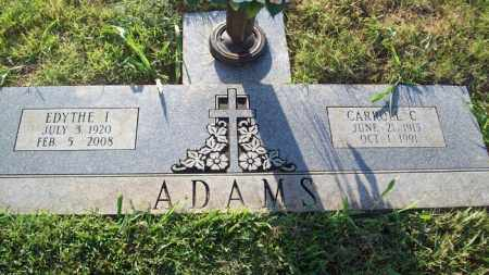 ADAMS, CARROLL C. - Stephens County, Oklahoma | CARROLL C. ADAMS - Oklahoma Gravestone Photos
