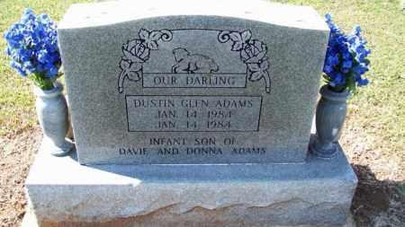 ADAMS, DUSTIN GLEN - Stephens County, Oklahoma | DUSTIN GLEN ADAMS - Oklahoma Gravestone Photos