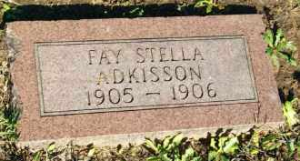 ADKISSON, FAY STELLA - Stephens County, Oklahoma   FAY STELLA ADKISSON - Oklahoma Gravestone Photos