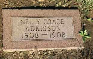 ADKISSON, NELLY GRACE - Stephens County, Oklahoma   NELLY GRACE ADKISSON - Oklahoma Gravestone Photos