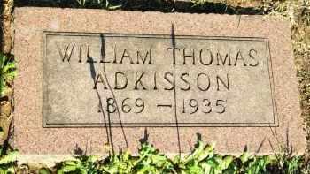 ADKISSON, WILLIAM THOMAS - Stephens County, Oklahoma   WILLIAM THOMAS ADKISSON - Oklahoma Gravestone Photos