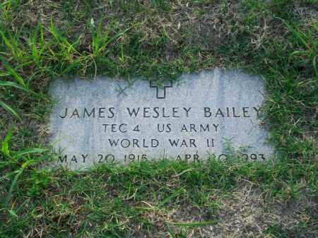 BAILEY, JAMES WESLEY - Stephens County, Oklahoma | JAMES WESLEY BAILEY - Oklahoma Gravestone Photos