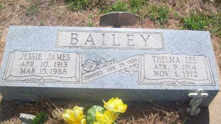 BAILEY, JESSIE JAMES - Stephens County, Oklahoma | JESSIE JAMES BAILEY - Oklahoma Gravestone Photos