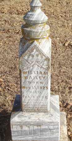 BAILEY, WILLIAM - Stephens County, Oklahoma   WILLIAM BAILEY - Oklahoma Gravestone Photos