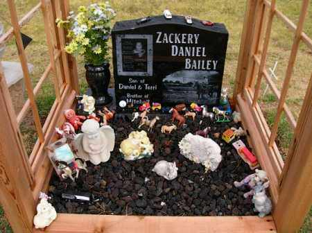 BAILEY, ZACKERY D. - Stephens County, Oklahoma | ZACKERY D. BAILEY - Oklahoma Gravestone Photos