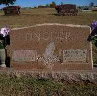 FINCHER, BENJAMIN W. - Stephens County, Oklahoma | BENJAMIN W. FINCHER - Oklahoma Gravestone Photos