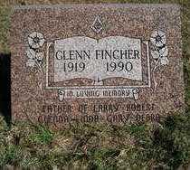 FINCHER, GLENN - Stephens County, Oklahoma | GLENN FINCHER - Oklahoma Gravestone Photos