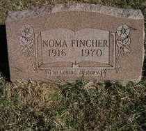 FINCHER, NOMA - Stephens County, Oklahoma   NOMA FINCHER - Oklahoma Gravestone Photos