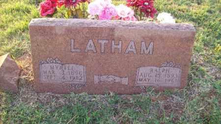LATHAM, RALPH - Stephens County, Oklahoma | RALPH LATHAM - Oklahoma Gravestone Photos