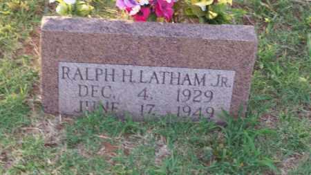 LATHAM, RALPH H. JR. - Stephens County, Oklahoma | RALPH H. JR. LATHAM - Oklahoma Gravestone Photos