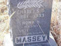 MASSEY, CHARLES D. - Stephens County, Oklahoma | CHARLES D. MASSEY - Oklahoma Gravestone Photos