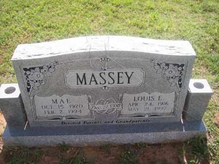 MASSEY, LOUIS E. - Stephens County, Oklahoma | LOUIS E. MASSEY - Oklahoma Gravestone Photos