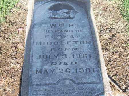 MIDDLETON, W.M.P. - Stephens County, Oklahoma | W.M.P. MIDDLETON - Oklahoma Gravestone Photos