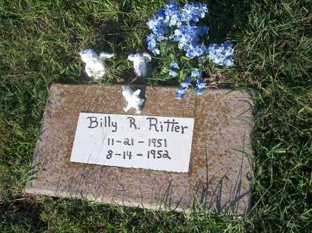 RITTER, BILLY R. - Stephens County, Oklahoma | BILLY R. RITTER - Oklahoma Gravestone Photos