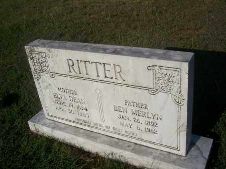 RITTER, WALTER M. - Stephens County, Oklahoma | WALTER M. RITTER - Oklahoma Gravestone Photos