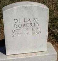 ROBERTS, DILLA M. - Stephens County, Oklahoma   DILLA M. ROBERTS - Oklahoma Gravestone Photos