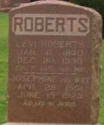 ROBERTS, JOSEPHINE - Stephens County, Oklahoma | JOSEPHINE ROBERTS - Oklahoma Gravestone Photos