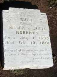 ROBERTS, RUTH - Stephens County, Oklahoma   RUTH ROBERTS - Oklahoma Gravestone Photos