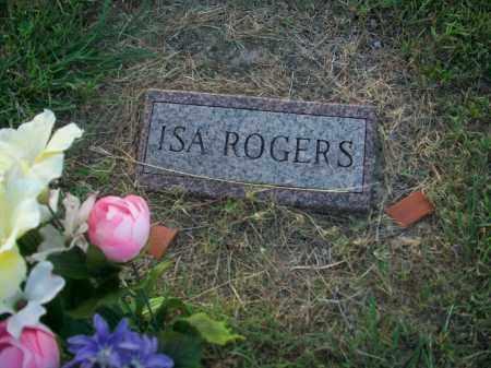 "ROGERS, AISA IRENE ""ISA"" - Stephens County, Oklahoma | AISA IRENE ""ISA"" ROGERS - Oklahoma Gravestone Photos"