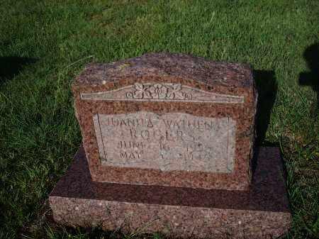 ROGERS, JUANITA  MATHENA - Stephens County, Oklahoma   JUANITA  MATHENA ROGERS - Oklahoma Gravestone Photos
