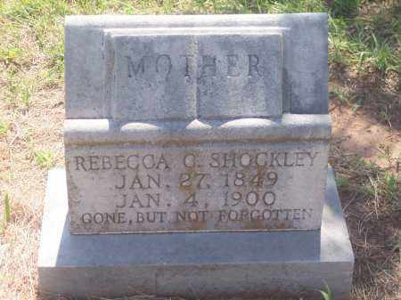 SHOCKLEY, REBECCA O. - Stephens County, Oklahoma | REBECCA O. SHOCKLEY - Oklahoma Gravestone Photos