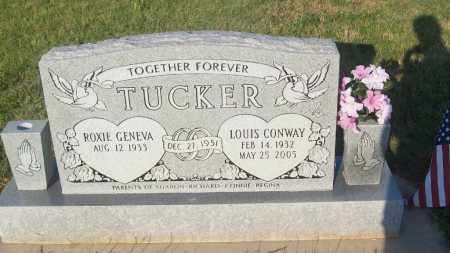 TUCKER, LOUIS C. - Stephens County, Oklahoma | LOUIS C. TUCKER - Oklahoma Gravestone Photos