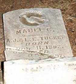 TUCKER, MABEL C. - Stephens County, Oklahoma | MABEL C. TUCKER - Oklahoma Gravestone Photos