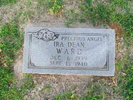 WARD, IRA DEAN - Stephens County, Oklahoma | IRA DEAN WARD - Oklahoma Gravestone Photos