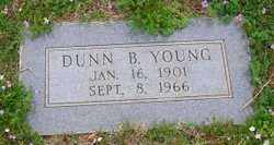 YOUNG, DUNN B. - Stephens County, Oklahoma | DUNN B. YOUNG - Oklahoma Gravestone Photos