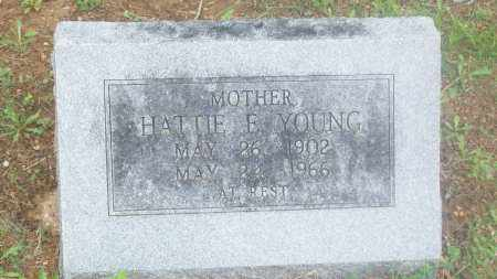 YOUNG, HATTIE F. - Stephens County, Oklahoma   HATTIE F. YOUNG - Oklahoma Gravestone Photos