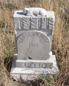 BEER, HAROLD W - Texas County, Oklahoma | HAROLD W BEER - Oklahoma Gravestone Photos