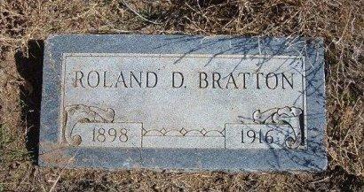 BRATTON, ROLAND D - Texas County, Oklahoma | ROLAND D BRATTON - Oklahoma Gravestone Photos