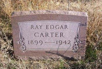 CARTER, RAY EDGAR - Texas County, Oklahoma | RAY EDGAR CARTER - Oklahoma Gravestone Photos