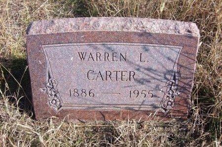 CARTER, WARREN L - Texas County, Oklahoma | WARREN L CARTER - Oklahoma Gravestone Photos