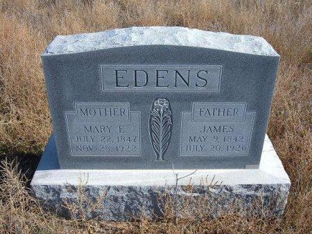 CHURCH EDENS, MARY E - Texas County, Oklahoma | MARY E CHURCH EDENS - Oklahoma Gravestone Photos