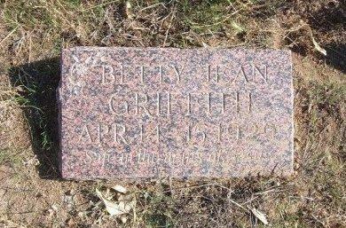 GRIFFITH, BETTY JEAN - Texas County, Oklahoma | BETTY JEAN GRIFFITH - Oklahoma Gravestone Photos
