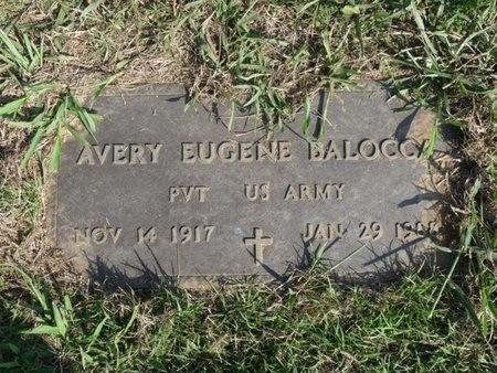BALOCCA (VETERAN), AVERY EUGENE - Tulsa County, Oklahoma   AVERY EUGENE BALOCCA (VETERAN) - Oklahoma Gravestone Photos
