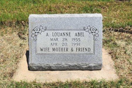 SMITH ABEL, ADELIA LOUANNE - Tulsa County, Oklahoma | ADELIA LOUANNE SMITH ABEL - Oklahoma Gravestone Photos