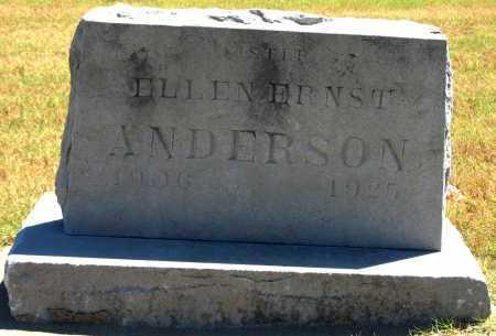 ANDERSON, ELLEN ERNST - Tulsa County, Oklahoma | ELLEN ERNST ANDERSON - Oklahoma Gravestone Photos