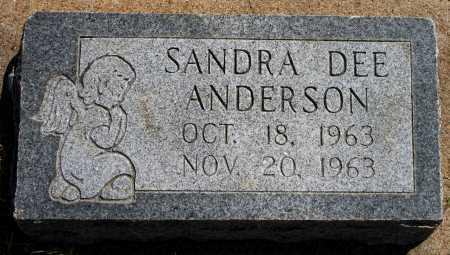 ANDERSON, SANDRA DEE - Tulsa County, Oklahoma | SANDRA DEE ANDERSON - Oklahoma Gravestone Photos