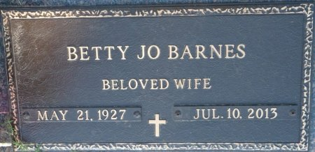 GOODMAN BARNES, BETTY JO - Tulsa County, Oklahoma | BETTY JO GOODMAN BARNES - Oklahoma Gravestone Photos